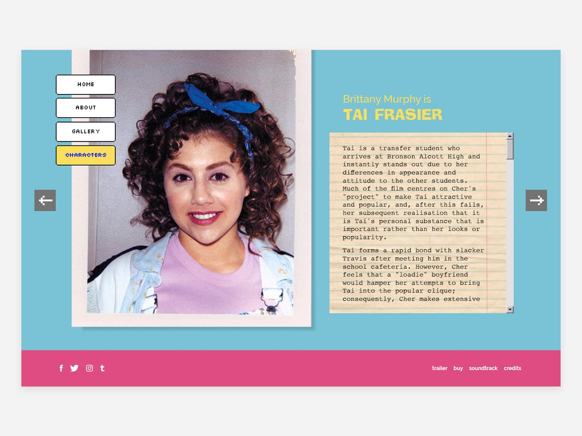 Clueless Characters by Daniela Paz on Dribbble