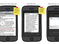 Mobile iterations