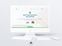 Landing page - Food Products
