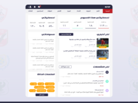 Arabic Dashboard for editors, writers