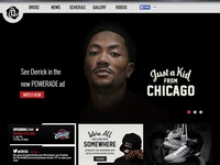 NBA MVP Derrick Rose