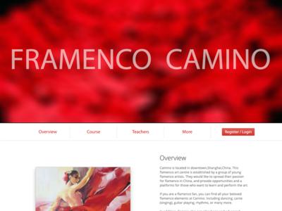 Camino web design