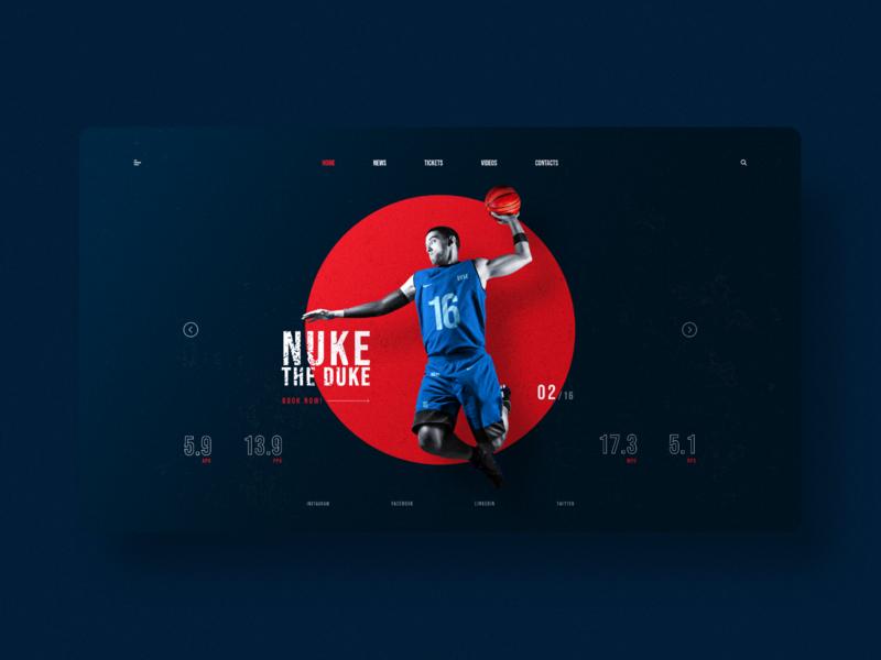 Nuke the Duke | Basketball Website