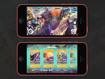 Mobile UI Artist Test ui mobile game ux game ui shop hud gameloft