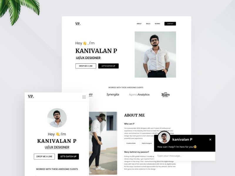 Portfolio Design Web