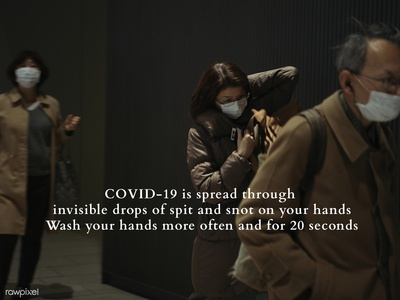 rawpixel & H+K COVID-19 Study: Spread through