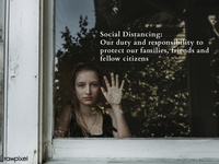 rawpixel & H+K COVID-19 Study: Social Distancing quarantine stay home design resource citizens protection social distancing covid-19 covid 19 covid19 covid coronavirus awareness british design design space photography woman