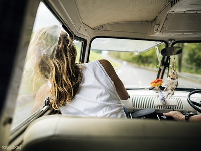 Women in car No.5