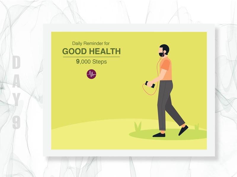 MedDNA Social Media Campaign - Day 09 colourfull vectordesign flatdesign adobe illustrator socialmediatemplate instagram graphicdesign facebook campaign design medical healthcare