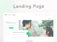 Daily UI 003 : Landing Page #DailyUI