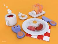 早餐 breakfast
