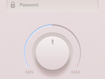 Soft Ui Kit ui kit userinterface knob form iphone icon