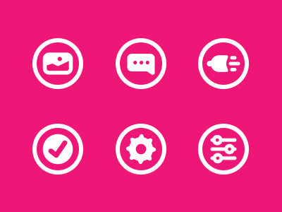 Icons Set icon ui kit bundle vector ps download chat setting iphone