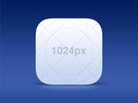 Free! iOS 7 Icon Template