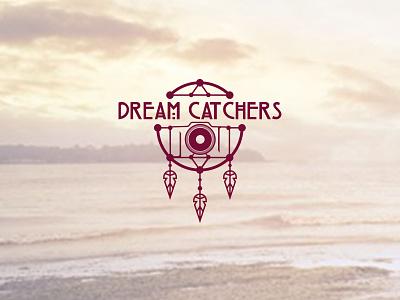 Dream Catchers mark camera dreamcatcher photography branding logo