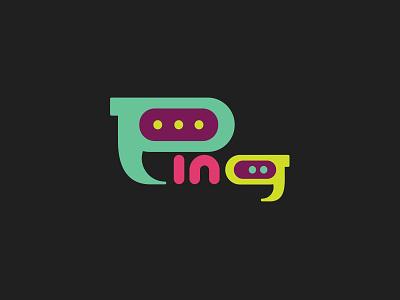Ping mark thirtylogos groupchat ping branding logo