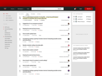 Warrior Forum News Feed Landing Page Redesign
