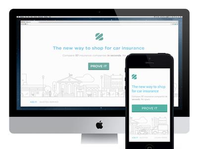 Insurance Zebra homepage