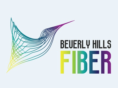 Beverly Hills Fiber   Logo Design