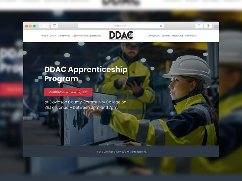 DDAC.tech | Web Design web design company web design agency web design website concept website sparkweb design