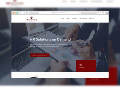 HR Solutions on Demand | Website Design