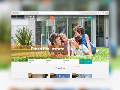 USADwelling.Com - Website Design homes investment real estate website concept website design webdesign creative  design flat web ux ui website web design sparkweb design