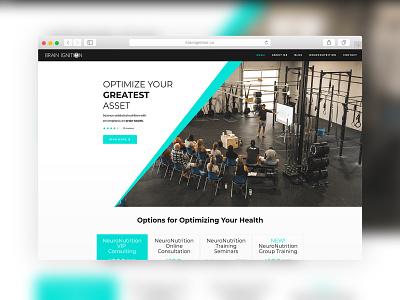 Brainignition.Ca - Website Design coaching nutrition wordpress website wordpress design wordpress website concept website design websites web ux website web design sparkweb design
