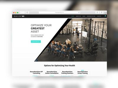 BrainIgnition.ca - Website Design