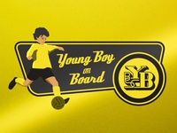 Young Boy on Board