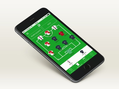 Toofix - Mobile app fantasy football mobile app