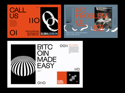 Style Exploration typography design blockchain bitcoin sketch digital style tiles branding