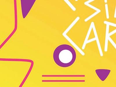 Chicas Sin Carne ID branding cat logo id