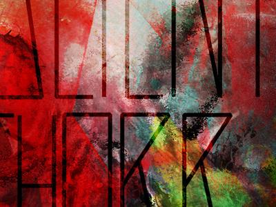 Valient Thorr poster valient thorr graphic design