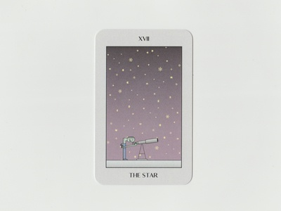 The Star card deck card design character illustration illustration tarot tarot cards