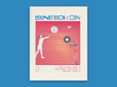 McKinley Dixon + Din Flyer