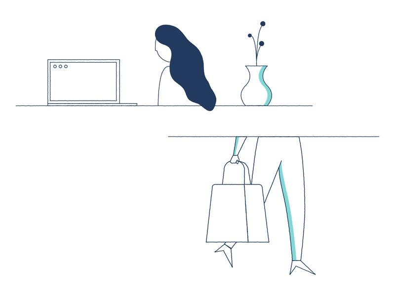Illustration Drafts for Workshop Digital graphic desgin work in progress illustration