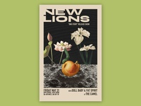New Lions EP Release Poster