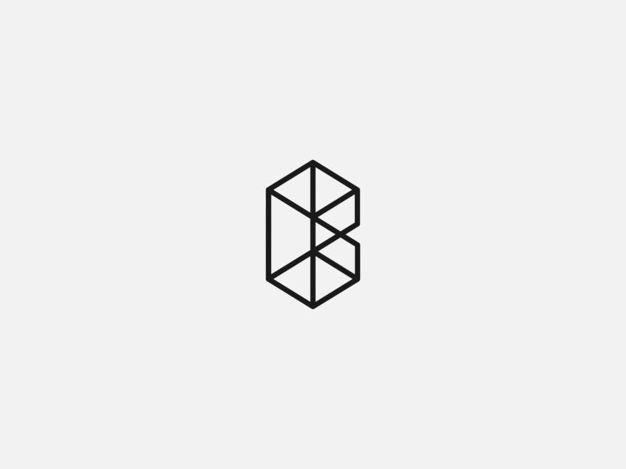 Vanderson Vieira Design Logofolio Bordeaux Arquitetura grids golden ratio gestalt logo design design logo concept brand minimalism madeinaffinity logotype logo