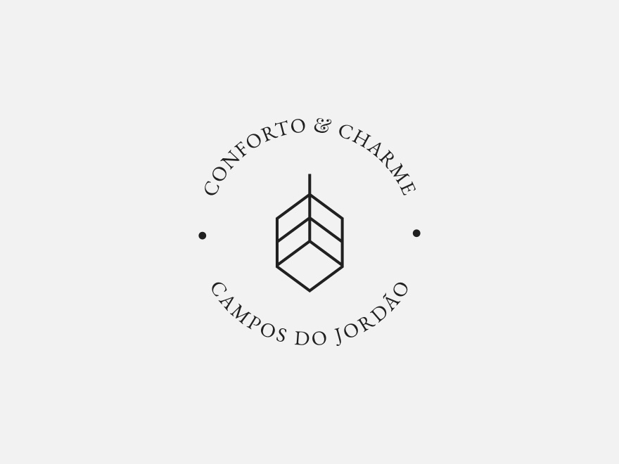 Vanderson Vieira Design Logofolio Conforto E Echarme made in affinity madeinaffinity branding drawing gestalt minimalism logo design grids concept brand logotype logo