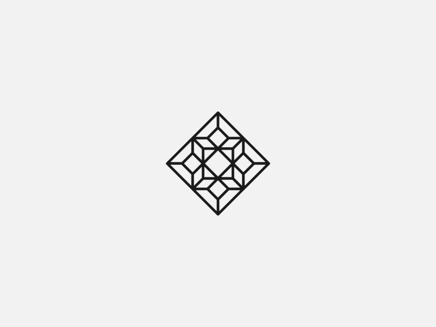 Vanderson Vieira Design Logofolio Bussola Arquitetura madeinaffinity concept logo golden ratio gestalt logo design brand logotype minimalism