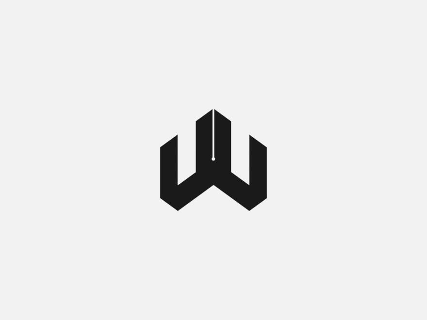 Vanderson Vieira Design Logofolio W Engineering logo madeinaffinity branding design gestalt golden ratio minimalism logo design concept brand logotype
