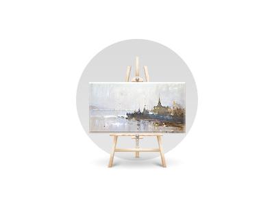 Icon for Krasnoyarsk artist site easel krasnoyarsk icon