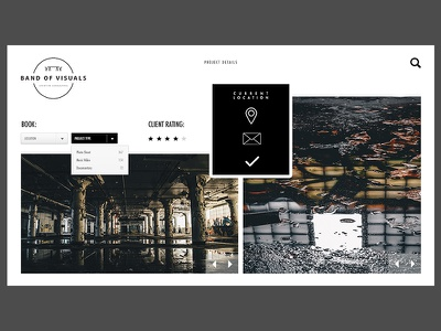 Creative Agency Project web ux urban ui site photography pages neutral layout design creative agency