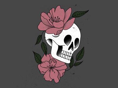 Tattoo Style Skull