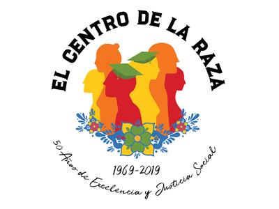 El Centro de la Raza Anniversary logo