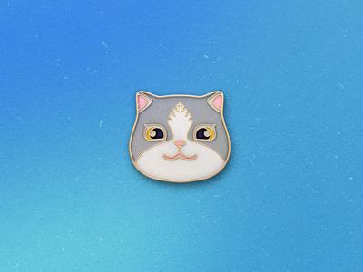 Enamel Pin Kitten