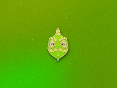 Enamel Pin Chameleon