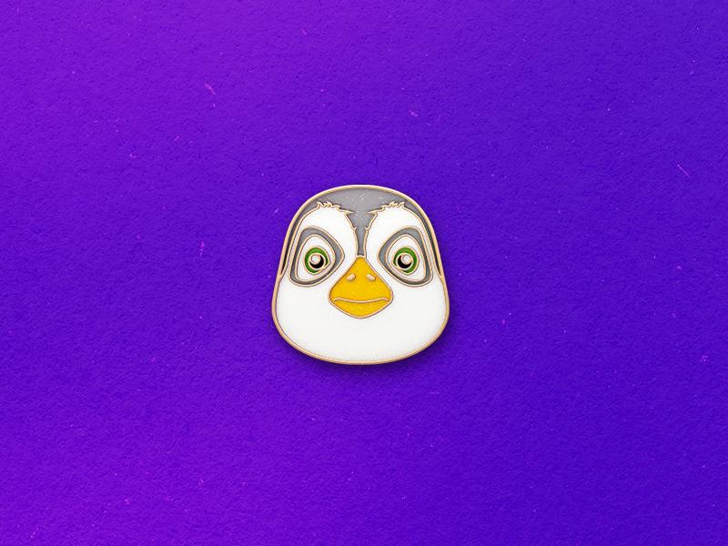 Pins 8x6 penguin