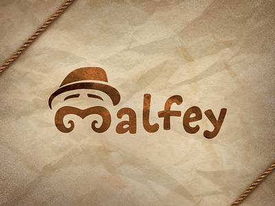 Malfey cookies cake malfey crumbs bread bakery logotype logo craft