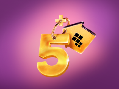 Plus Five ring plus house home five teaser